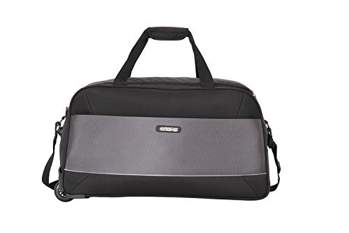 American Tourister Poler Polyester 65 cms Black Travel Duffle (FW8 (0) 09 002)