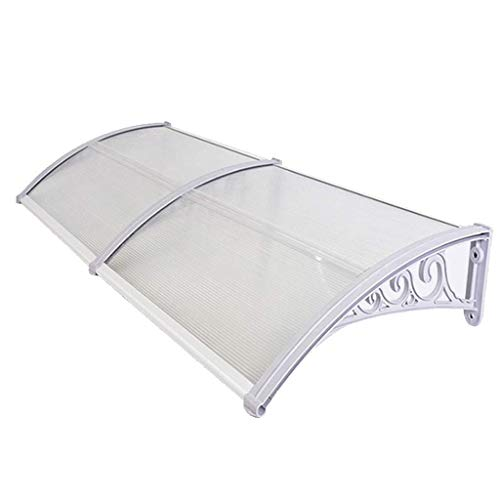 LNDDP Canopy Front Porch Shelter, Garden Awning, Furniture Protection, Eaves Shelter, for House Facade
