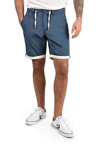 BLEND Kankuro - pantalón corto para Hombre, tamaño:L;color:Ensign Blue (70260)