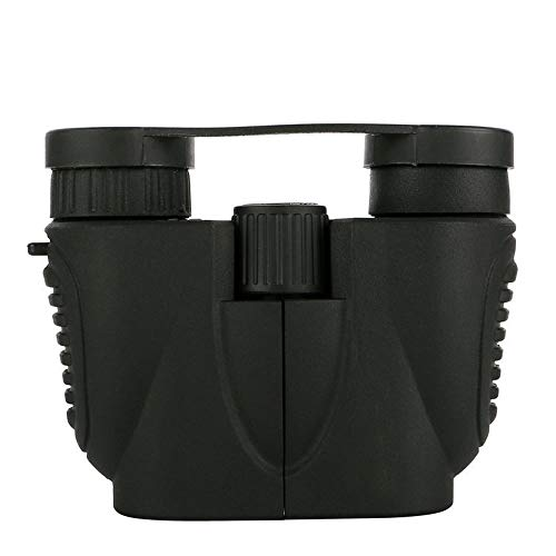 DKEE 10x22 HD High Definition Objektiv Fernglas BAK7, Paul Prisma, FMC Multi Coating Waterpoof for Marine Wandern Vogelbeobachtung Tragbare Schwarz.