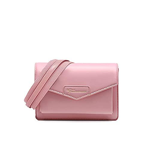 TIANHONGDAISHU Bolso bandolera de cuero para mujer pequeño Satchel bolso de hombro Vintage Saddle Bolsos Messenger Bag