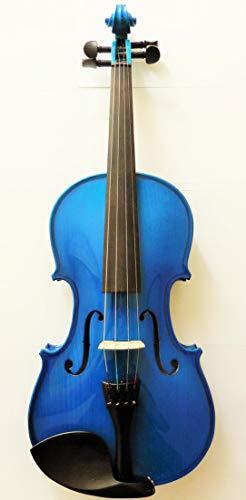 Pretorio エレクトリックアコースティックバイオリン (ブルー)