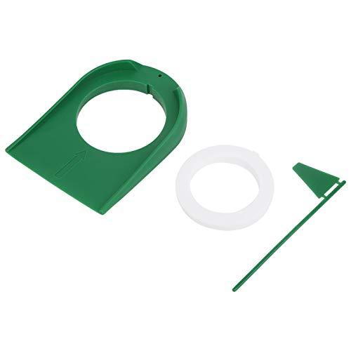 SALUTUYA Taza de Golf Liviana, Resistente, de 5.12x7.09 Pulgadas, Placa de Putter de Entrenamiento de Golf, plástico, para Oficina en casa