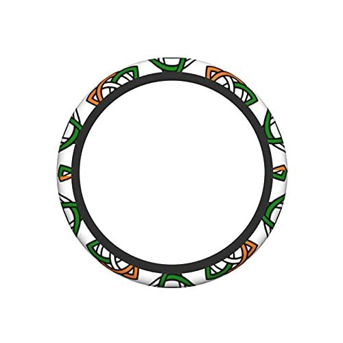 Celtic Knot Irish Universal Steering Wheel Covers, Cute Car Steering Wheel Cover for Women and Girls, Car Accessories for Women