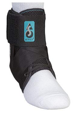 ASO EVO Ankle Stabilizer Support Black Large