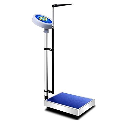 ShiSyan Altura Escala y el Hospital Escala de Salud Báscula electrónica Báscula de precisión for Adultos Inicio del salón de Belleza Especial Escala electrónica Básculas Digitales