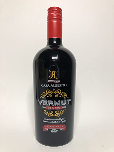 Vermut Casa Alberto. Botella de 75 cl.
