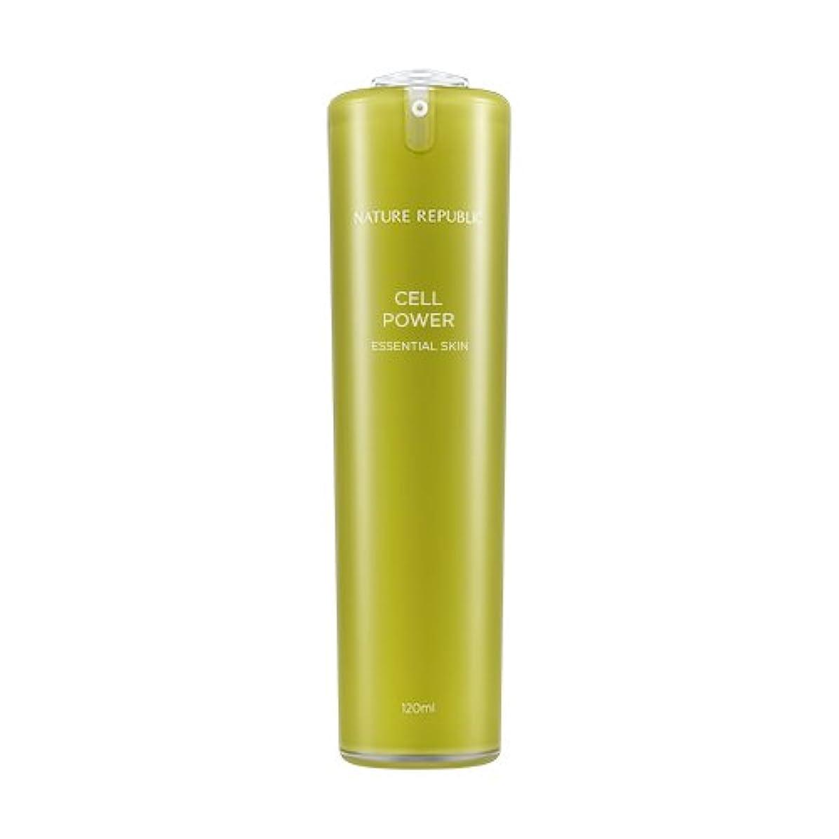 カーテン唯一祝うNATURE REPUBLIC Cell Power Essential Skin / ネイチャーリパブリックセルパワーエッセンシャルスキン 120ml [並行輸入品]