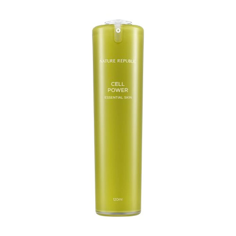 転倒数学タンクNATURE REPUBLIC Cell Power Essential Skin / ネイチャーリパブリックセルパワーエッセンシャルスキン 120ml [並行輸入品]