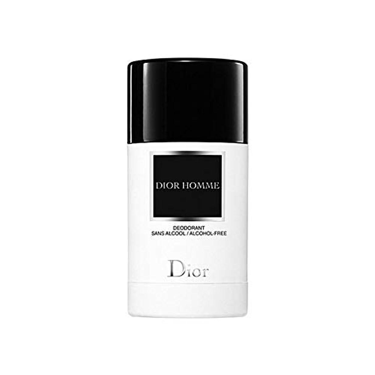 抵当受粉者怠惰[Dior ] ディオールディオールのオムデオドラントスティック75グラム - Dior Dior Homme Deodorant Stick 75G [並行輸入品]
