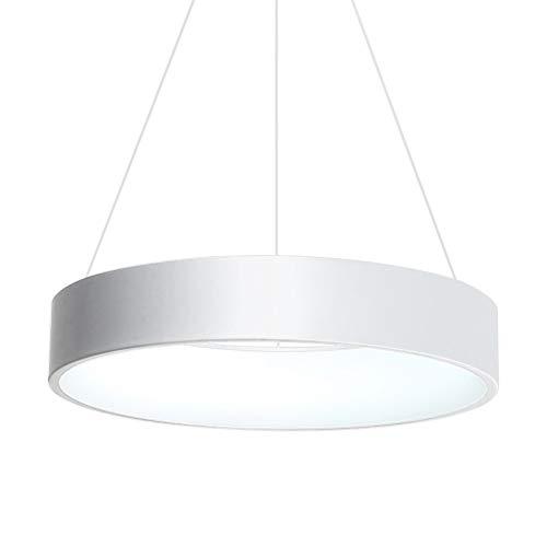 MJZHXM Llevó Luces de la lámpara Pendiente for Comedor Cocina Sala de Estar Tienda Barra Gris o Blanco del Color de la lámpara Pendiente Accesorios (Body Color : Blanco, Size : WarmNO RC)