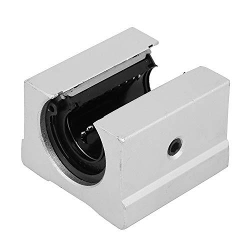 Ball Bearing Block low friction Open Slide Block Bushing Slide Block SBR16UU for 3D printer parts for Mechanical lathe for Mechanical sliding table accessories