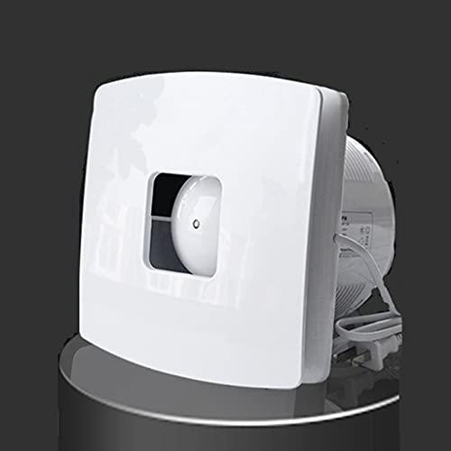 Yousiju Ventilador de escape Ventilador de escape para inodoro Ventilador de escape de inodoro Ventilador de cocina Potente Silencioso Pequeño Tipo de Ventana