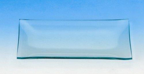 Glasteller rechteckig 8x16cm
