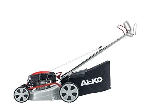 AL-KO Easy 4.6 SP-S - Tosaerba a a benzina, Scoppio semovente, 140cc OHV, Alzo Centralizzat, Cesto 60l tela, Ideale 1.400mq