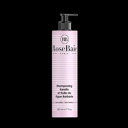 Shampoing à la Kératine et à l'huile de Figue de Barbarie (500ml)