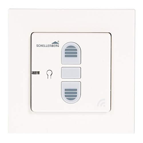Schellenberg 20030 Smart Home Funk-Rolladenschalter & Funk-Raffstoreschalter, nachrüstbar für Smarte Antriebe