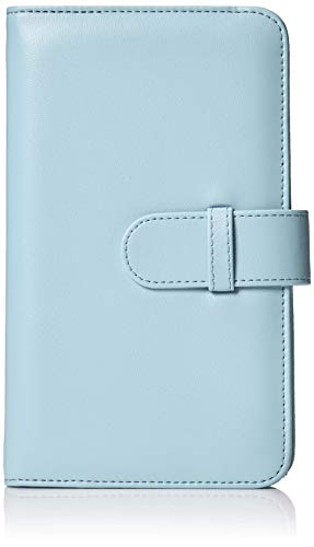 Amazon Basics Album style portefeuille pour 108 photos Instax Mini Bleu glace