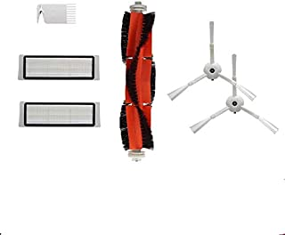 Compatible Accessories For Robot Vacuum cleaner. 2 Side Brushes,2 Hepa Filters, 1 Main Brush & 1 Cleaning Tool