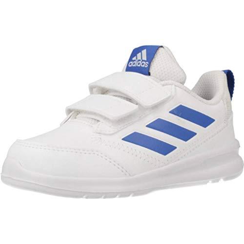 adidas Altarun CF I, Zapatillas de Gimnasia Unisex niños, Blanco (FTWR White/Blue/FTWR White FTWR White/Blue/FTWR White), 22 EU