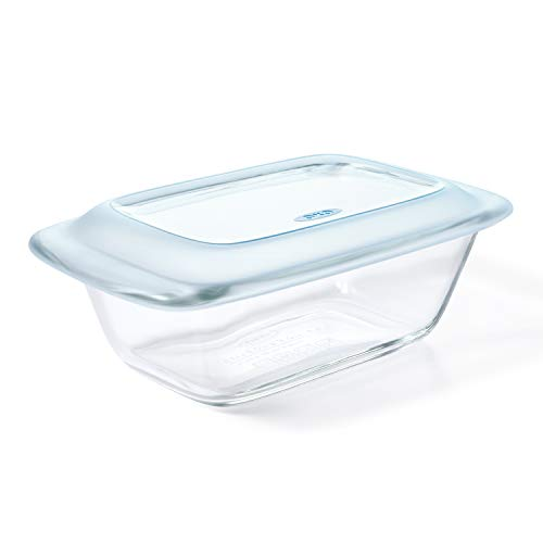 OXO Good Grips Glass Loaf Pan with Lid, One Size