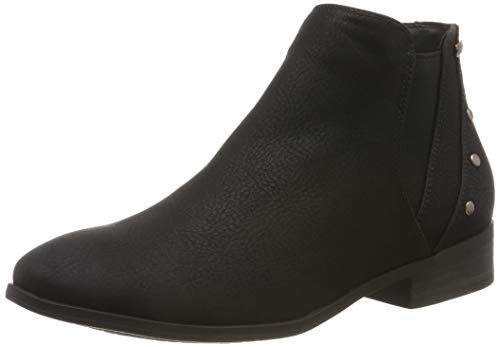 Roxy Damen Yates-Ankle Boots for Women Stiefeletten, Schwarz (Black Blk), 36 EU