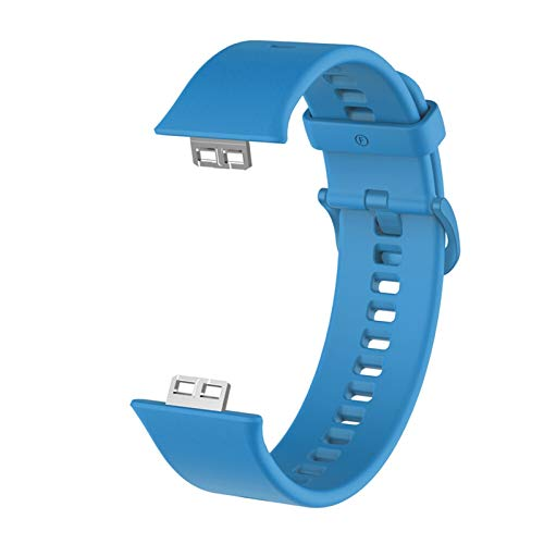 LLKHFA Caso Protector + Correa para Reloj Huawei Fit Relojes Inteligentes Tapa Completa Protector de Pantalla Película Película Pulsera Pulsera Accesorios