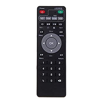 Calvas New Set-Top Box Learning Remote Control For Unblock Tech Ubox Smart TV Box Gen 1/2/3