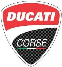 Retro-Aufkleber, reflektierend, für Helm Ducati Korsika