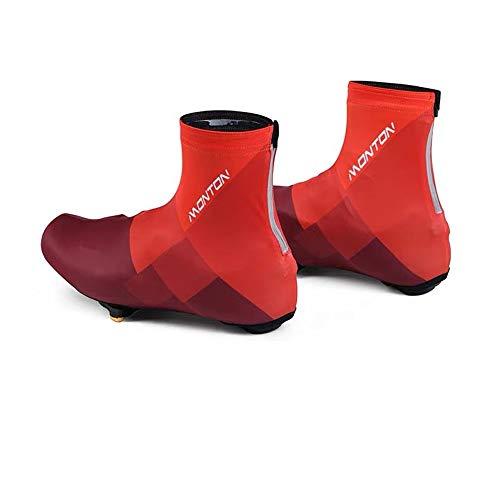 QinWenYan waterdichte regenlaarzen schoenafdekking voor mannen en vrouwen, outdoor-wedstrijd, fietssloten, mountainbike, schoen, stof, schoen, paardrijden, geschikt voor buiten