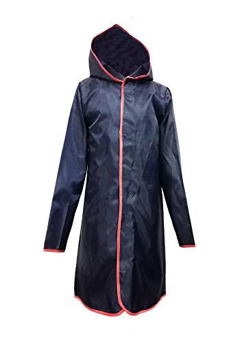Fashtech Kids Full Sleeves Hooded Rain Coat (Olive, 7-8)