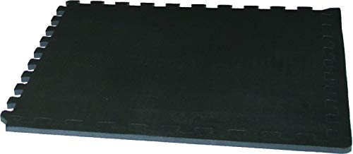 Tunturi 14Tuscl269 Pack de 6 Alfombrillas Protectoras, Unisex Adulto, Plateado/Negro, 120 x 180 cm