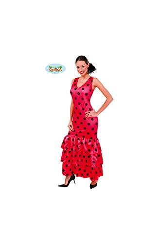Disfraz de andaluza rosa