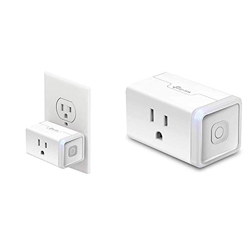 Kasa Smart Plug by TP-Link & Smart Plug Mini, Smart Home Wifi Outlet Works with Alexa & Google Home, WiFi Simple Setup, No Hub Required – A Certified for Humans Device (HS105)