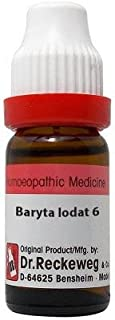 Dr. Reckeweg Baryta Iodatum 6 CH (11ml)- Pack Of 1 Bottle & (Free St. George's COF MIX - An Ideal Remedy for COUGH 1 pcs o...