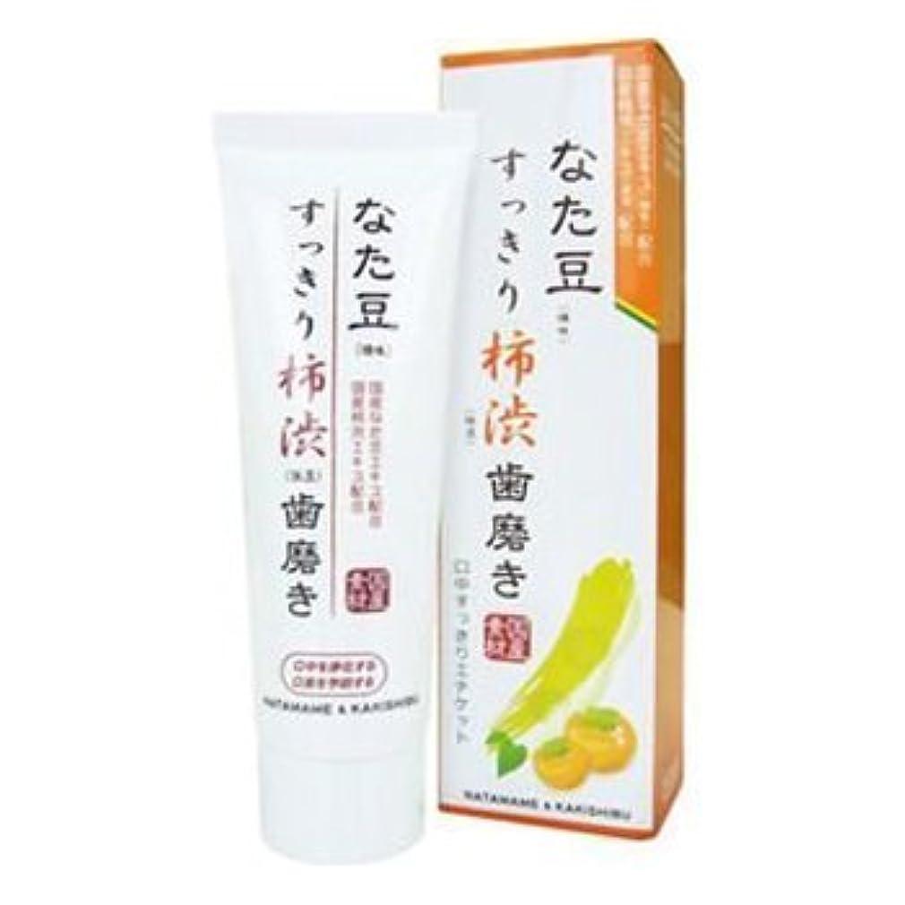 アミューズキリマンジャロ花なた豆 すっきり柿渋歯磨き粉 120g