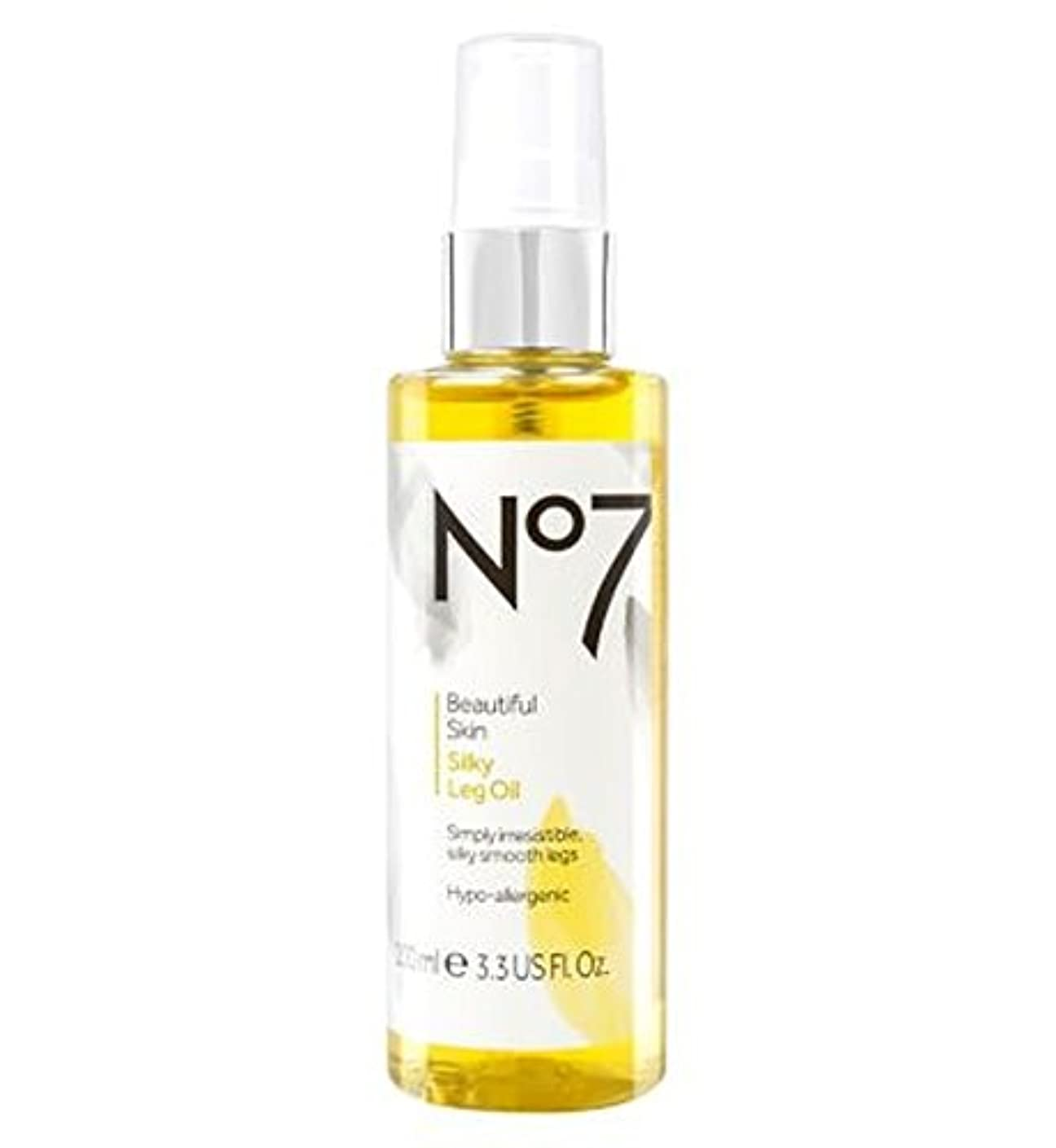 台風獲物わかりやすいNo7 Beautiful Skin Silky Leg Oil - No7美しい肌絹のような脚油 (No7) [並行輸入品]