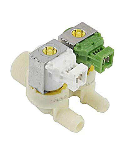SpareHome® Electroválvula para lavadoras AEG, ELECTROLUX, ZANUSSI, ARTHUR MARTIN, BENDIX, DOMEOS, DOMETIC,