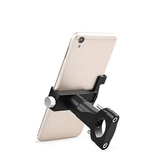 CHENC telefoonhouder, 360° verstelbaar aluminiumlegering fietsstuur telefoonhouder eenvoudig te installeren anti-slip slijtvast voor fiets mountainbike motorfiets