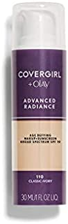 CoverGirl Advanced Radiance Liquid Makeup - Classic Ivory (110) - 2 pk
