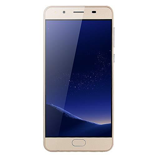 JiaMeng Moviles Libres 4G 5.0''Ultradelgado Android 5.1 Cuatro nucleos 512MB+512MB gsm WiFi Dual SIM Smartphone Móviles y Smartphones Libres (Oro)