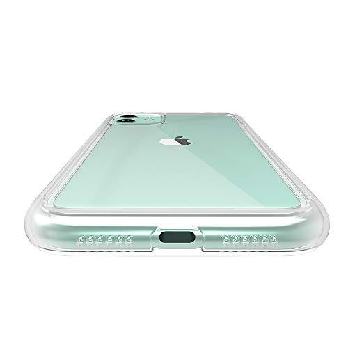 ABSOLUTETECHNOLOGYLINKASEAIRwithGorillaGlassforiPhone11(側面:ADM/変色防止TPU)