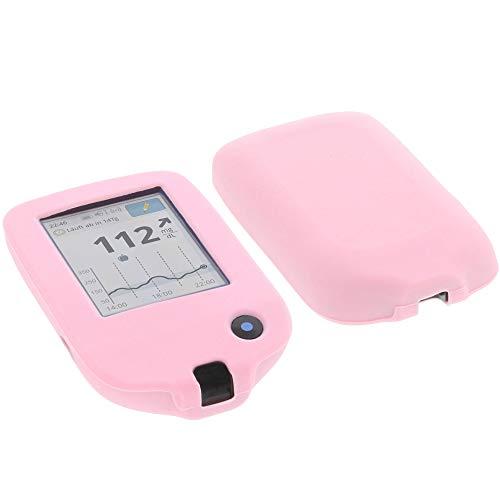 foto-kontor Tasche für Abbott Freestyle Libre 2 Silikon Schutzhülle pink