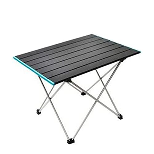 Mesas de Picnic Plegable, Mesa de Camping Plegable de Aluminio Liviana portátil con Bolsas de Almacenamiento, para al Aire Libre picnics Dentro y Fuera Playa Senderismo Viajes Pesca