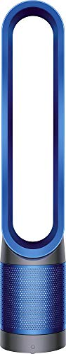 Dyson - TP02 Pure Cool Link Tower 400 Sq. Ft. Air Purifier - Iron, Blue
