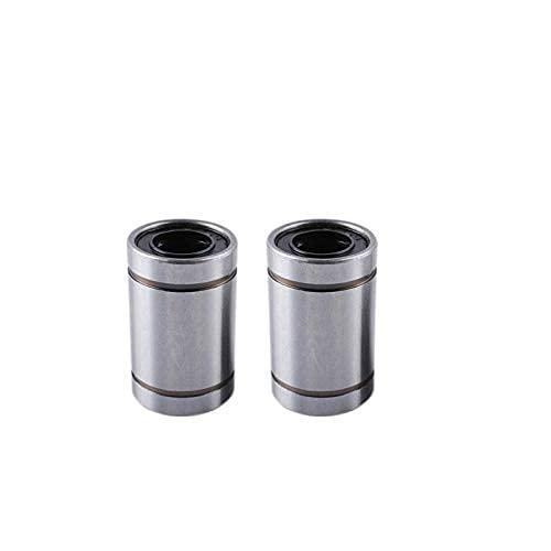 Neigei 4PCS 3d Printer Parts Genuine LM8UU Long Rod Shaft 8X15X24MM 3d Printer Linear Bearing For Reprap Anet A8 For Prusa I3