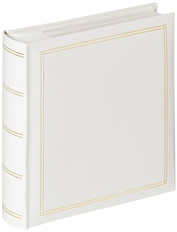 Walther Monza ME-139-W Memo Slip in Album Traditional White 200 Photos for 5 x 7 inch, 13 x 18 cm