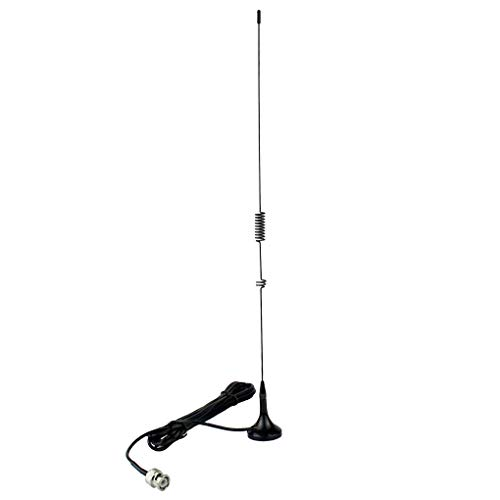 Topker Magnética Coche VHF Radio Móvil BNC/UHF Banda