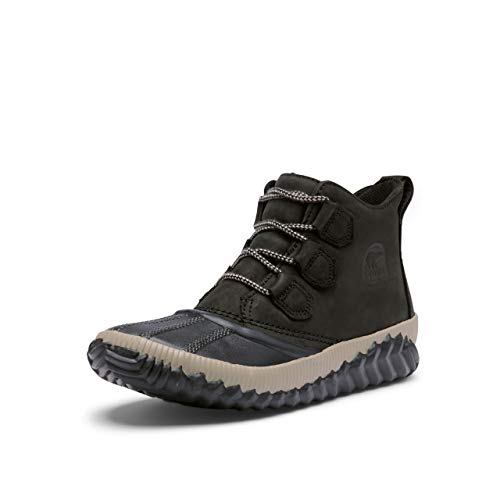 Sorel Out 'N About Plus Black Full Grain Leather 10.5