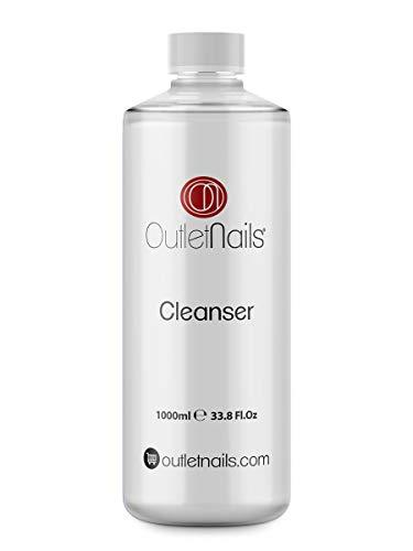 Cleaner 1000 ml Reinigungsflüssigkeit mit Erdbeerduft für Gel-Nägel – Reinigungsmittel zum Entfernen der klebrigen Schicht von UV/LED-Gel und Permanent-Nagellacken